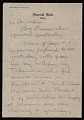 View Jasper Johns letter to Leo Castelli digital asset number 4
