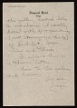 View Jasper Johns letter to Leo Castelli digital asset number 5