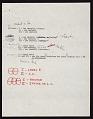 View Frank Stella note to Leo Castelli, New York, N.Y. digital asset number 1
