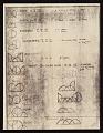 View Frank Stella note to Leo Castelli Gallery, New York, N.Y. digital asset number 1