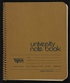 View Notebook of Leo Castelli digital asset: cover