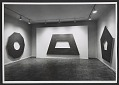 View Installation view of a Frank Stella exhibition at the Leo Castelli Gallery digital asset number 0