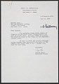 View Letter from Sigrid Byers, and assistant editor at <em>Art in America</em> magazine, to Barbara Wool at the Leo Castelli Gallery digital asset number 0