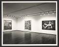 View View of 1986 Robert Combas Exhibition at Leo Castelli Gallery at 420 W. Broadway in New York City digital asset number 0