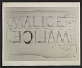 View Bruce Nauman, 'Drawing for Malice' digital asset number 0