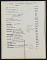 View List of items lost in fire at Jasper Johns's house and studio, Edisto Beach, South Carolina digital asset number 4