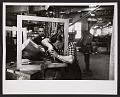 View Men working on Alexander Liberman's <em>Torque</em> sculpture digital asset number 0