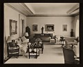View Edward G. Robinson's home. View of living room digital asset number 0