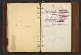 View Dorothy Liebes' address book digital asset: pages 64