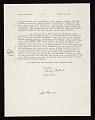 View Holger Cahill, Washington, D.C. letter to Jean Lipman, Cannondale, Connecticut digital asset number 1