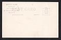 View Robert S. Kuhn postcard to Jean and Howard W. Lipman digital asset: verso