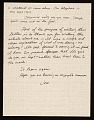 View Jonathan Borofsky letter to Lucy R. Lippard digital asset: verso