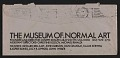 View Sheet of Museum of Normal Art stationery sent from Joseph Kosuth to Lucy Lippard and John Chandler digital asset: envelope verso