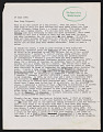 View Alan Gussow letter to Lucy R. Lippard digital asset number 0