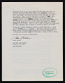 View Alan Gussow letter to Lucy R. Lippard digital asset number 3