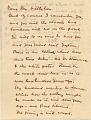 View Juliana Busbee letter to Harvey K. Littleton digital asset: page 1