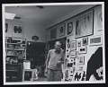 View Robert Motherwell in his Greenwich studio digital asset number 0