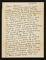 View Stuart Davis, New York, N.Y. letter to Erle Loran, Berkeley, Calif. digital asset number 0