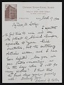 View Letters from Others to Stanton D. Loring digital asset number 1