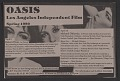 View Los Angeles Independent Film Oasis records, 1976-1981 digital asset number 0