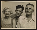 View Morris Louis with his mother and father digital asset number 0