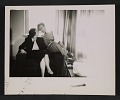 View Marcella Brenner and Morris Louis seated in an armchair digital asset number 0