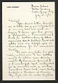 View Louis Lozowick, Bolton Landing, N.Y. letter to Adele Lozowick digital asset number 1