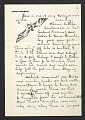 View Louis Lozowick, Bolton Landing, N.Y. letter to Adele Lozowick digital asset number 0