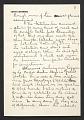 View Louis Lozowick, Bolton Landing, N.Y. letter to Adele Lozowick digital asset number 5