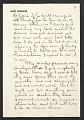 View Louis Lozowick, Bolton Landing, N.Y. letter to Adele Lozowick digital asset number 3