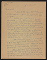View Ivan Albright letter to Earle Ludgin digital asset number 0