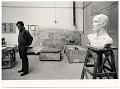 View Robert Winthrop White in his studio digital asset number 0