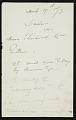 View Winslow Homer to Gustav Reicard digital asset number 0