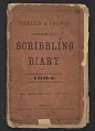 View Frederick William MacMonnies diary digital asset: cover