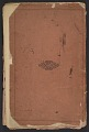 View Frederick William MacMonnies diary digital asset: cover back