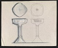 View John Marshall sketch of an inscribed silver goblet digital asset number 0