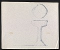 View John Marshall sketch of an inscribed silver goblet digital asset number 1
