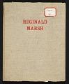 View Reginald Marsh scrapbook #4 digital asset: cover
