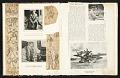 View Reginald Marsh scrapbook #4 digital asset: pages 6
