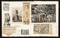 View Reginald Marsh scrapbook #4 digital asset: pages 10