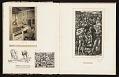 View Reginald Marsh scrapbook #4 digital asset: pages 25