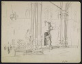 View Sketch of the Uffizzi Gallery digital asset number 0