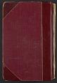 View Reginald Marsh diary digital asset: cover back