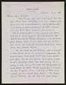 View Maxfield Parrish letter to A. Hyatt (Alpheus Hyatt) Mayor digital asset number 0
