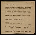 View Arthur Garfield Dove, Geneva, N.Y. letter to Elizabeth McCausland, New York, N.Y. digital asset number 0