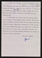 View Joseph F. McCrindle letter to unidentified recipient digital asset number 0