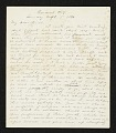 View Jervis McEntee letter to Mary McEntee Vaux digital asset number 0