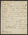 View Mary K. McGuigan and John F. McGuigan Jr. artists' letters collection, 1794-1938 digital asset number 0