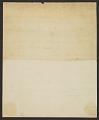View John Singleton Copley letter to John Thane digital asset: verso