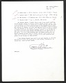 View Frances V. O'Connor, Washington, D.C. letter to Audrey McMahon, New York, N.Y. digital asset: page 1